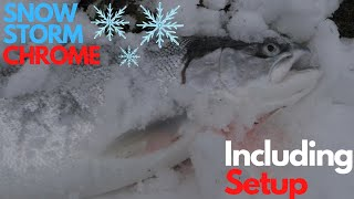 Plunking For WINTER STEELHEAD In The SNOW Including HOW TO