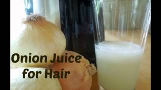 Onion Juice Regrew my Hair