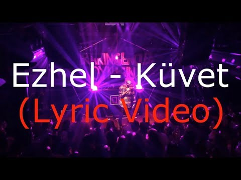 Ezhel - Küvet (Lyric Video)