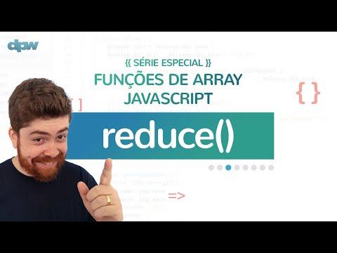Funções de Array JavaScript - Aula 3 - reduce()