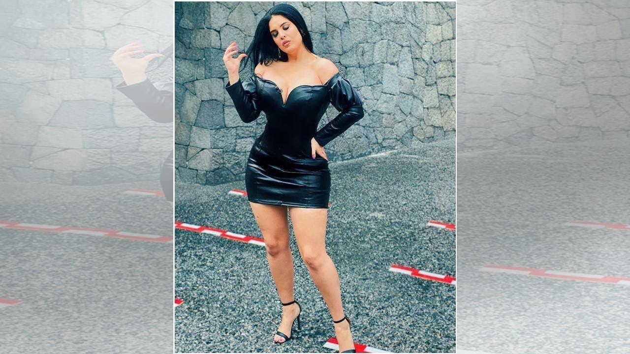 Download Curvy Zelma de VLA demuestra en pegado vestido que Yanet García ya pasó de moda