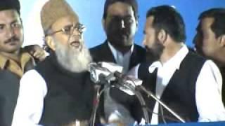 JI Karachi West Jalsa e Aam se Ameer-e JIP Syed Munawwar Hassan ka khitaab 01 - Jan - 2012