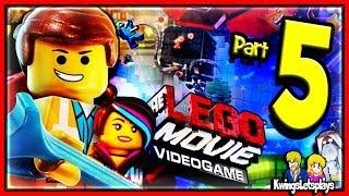LEGO Movie Videogame Walkthrough Part 5 Train Escape!