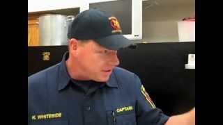 Kyra's Kitchen: Mckinney Firehouse Recipes Part 3 - Keith Whiteside - Fire Station #2 .mov
