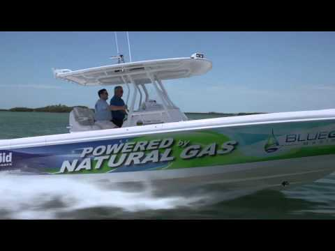 Blue Gas Marine, Inc. Natural Gas Hybrid Fuel System With Boating Magazine