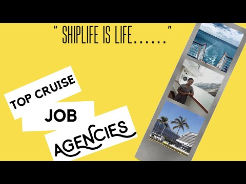 Get HIRED quickly with these TOP Cruise Job Agencies.