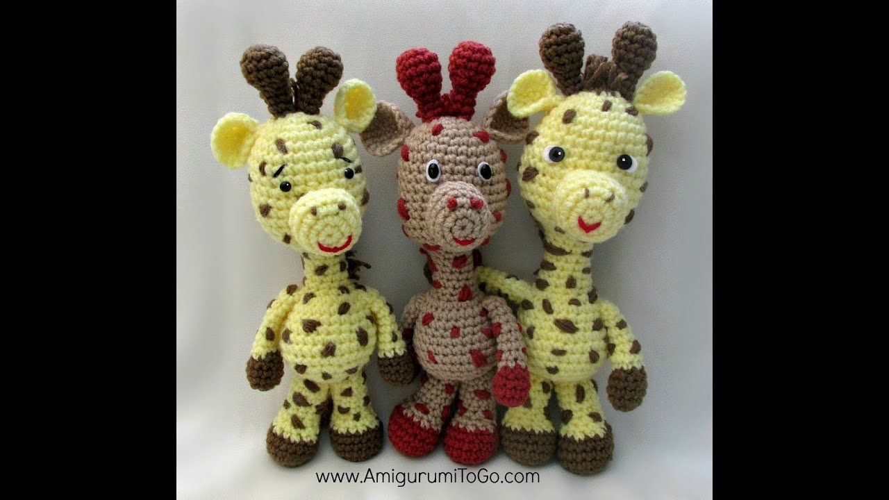 April's Baby: Giraffe Bookmark Amigurumi Crochet Pattern | 720x1280