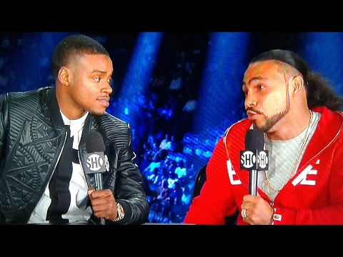(AKWARD MOMENT) KEITH THURMAN ASKED WHO HE WANTS NEXT WHILE SITTING NEXT ERROL SPENCE!!