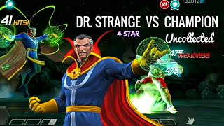 Doctor Strange VS The CHAMPION (Uncollected) Disable the Unstoppable  - Marvel Contest of champions