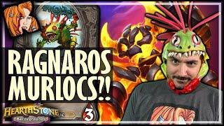 ONLY KRIPP WOULD PLAY RAG MURLOCS! - Hearthstone Battlegrounds