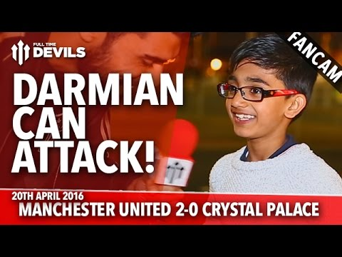 Darmian Can Attack! | Manchester United 2-0 Crystal Palace | FANCAM