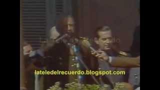 Discurso presidencial - 2 de abril de 1982