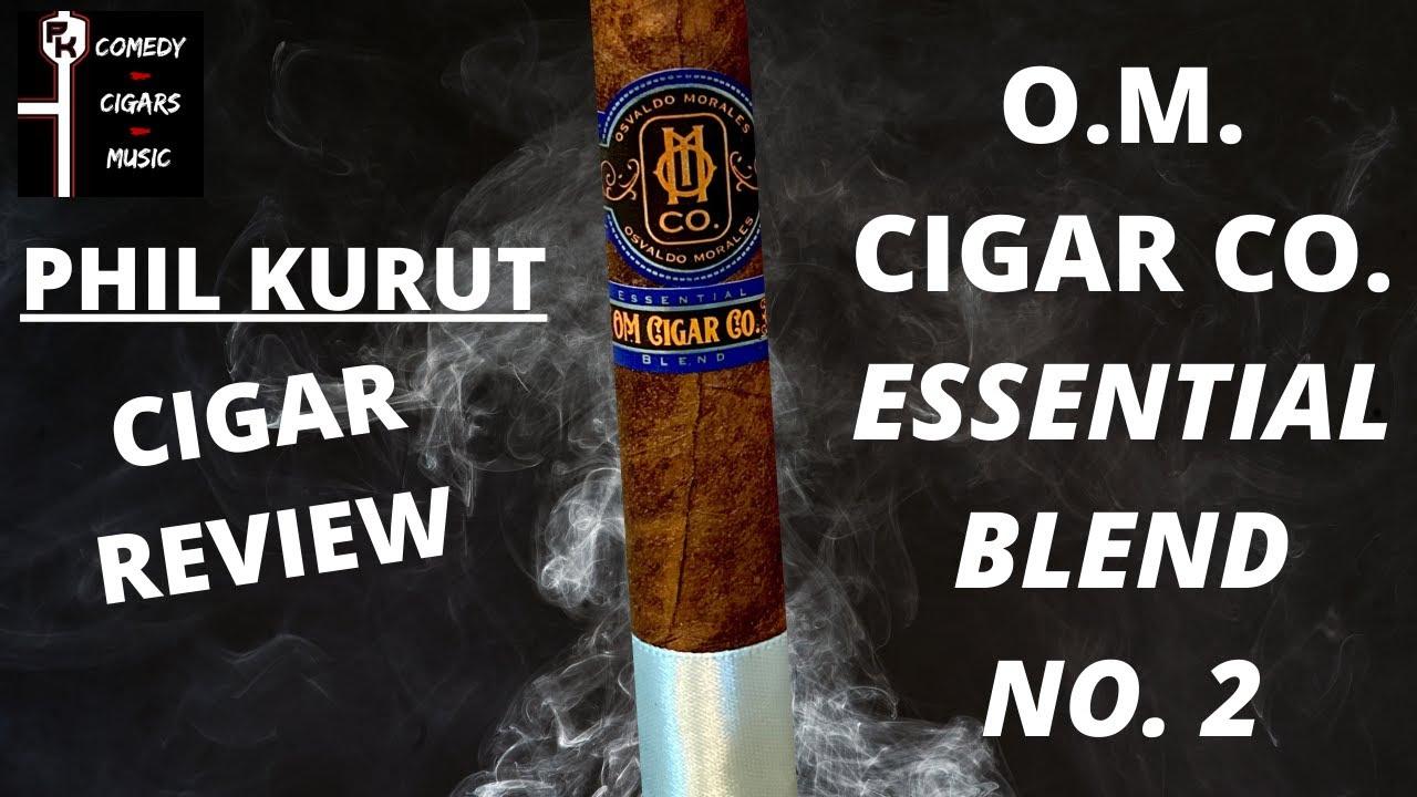 O.M. CIGARS ESSENTIAL BLEND NO. 2 CIGAR REVIEW