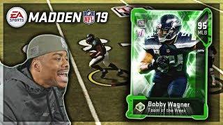 USER GOD 95 TOTW BOBBY WAGNER BIG BOY PLAYS!!!   God Squad #31   Madden 19 Ultimate Team