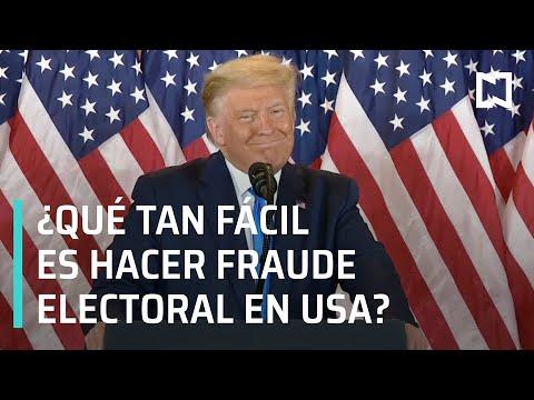 ¿Cómo se evita el fraude electoral en EE.UU.? - Las Noticias