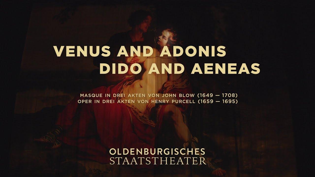 Bildergebnis für oldenburg staatstheater venus and adonis dido an aeneas