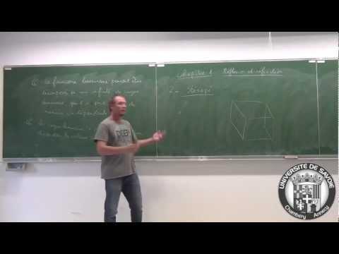Introduction à l'optique géométrique en L1 - cours 1