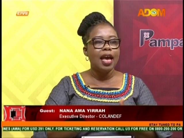 The New Land Bill - Pampaso on Adom TV (6-11-18)