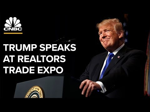 President Trump addresses National Association of Realtors - 05/17/2019