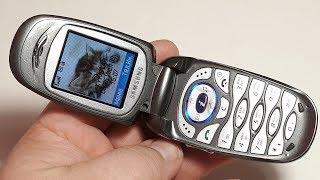 Samsung SGH X460. Капсула времени от Корейцев. Шикарный телефон для зоны