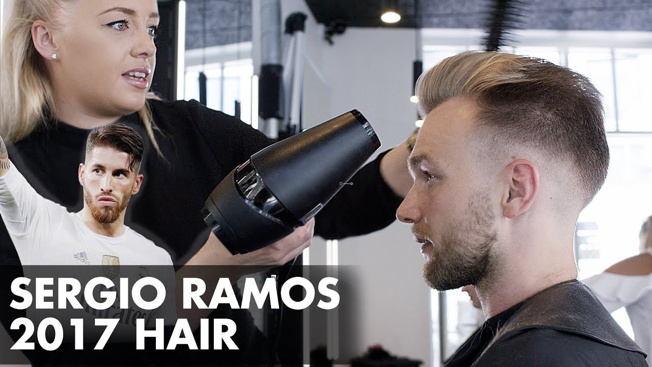 Sergio Ramos Hairstyle Champion Cut