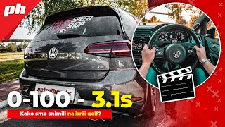 Snimanje NAJBRŽEG Golfa 7 R na Balkanu - Behind the scene🎬