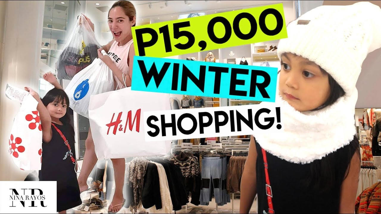 P15,000 WINTER OUTFIT SHOPPING TAYO! ( WINTER TIPS AND IDEAS ) | Nina Rayos ? 1