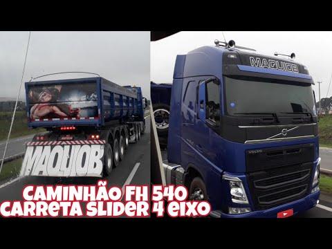 caminhÃo-fh-540-carreta-slider-4-eixos