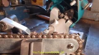 видео Заточные станки : Станок для заточки цепи Sadko SCS-85PRO