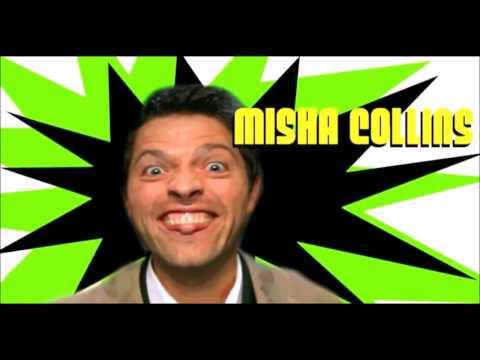 All Misha Collins Gag Reel (4-11)