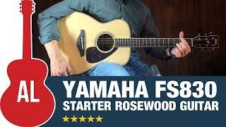 Yamaha FS830 - Rosewood Guitar at an Unbeatable Price!