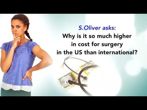 Askdrjones Why Is It So Much Higher In Cost For Surgery In The U S