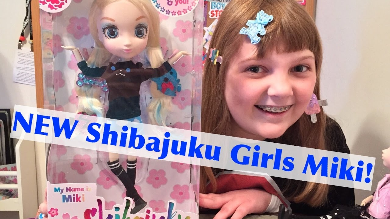 3205aa8194c NEW Shibajuku Girls Wave Two Series 2 Miki Doll - Unboxing and ...