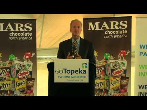 Mars Groundbreaking in Topeka, Kansas - Senator Jerry Moran