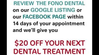Review our dental and get $20 off*