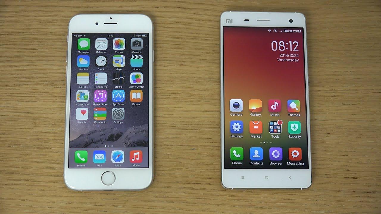 Xiaomi mi5 vs iphone 7 antutu