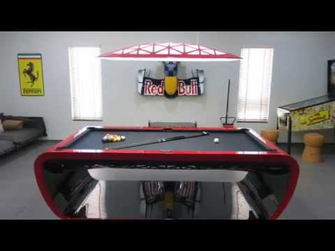 Games Room Concept by Thailand Pool Tables