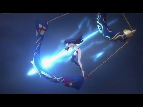 Fate/Grand Order - Berserker/King/Archer/Caster First Fight Scene