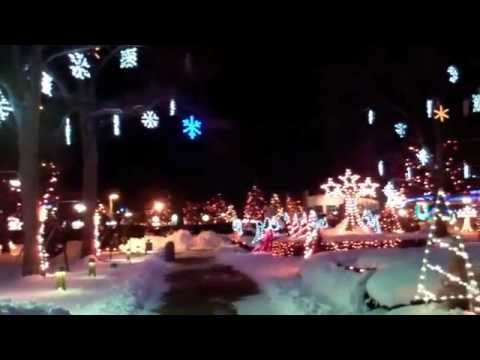 Christmas Lights at LaSalette Shrine, Attleboro, MA - YouTube