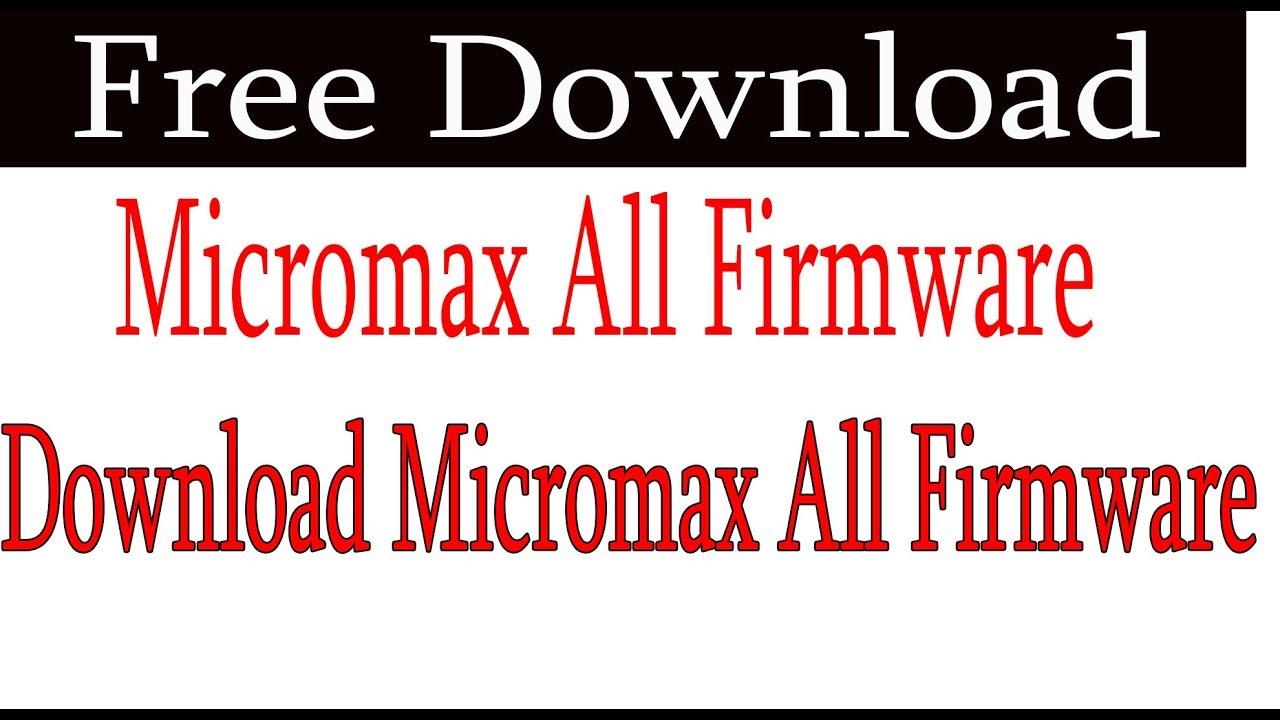 Micromax a117 flash file