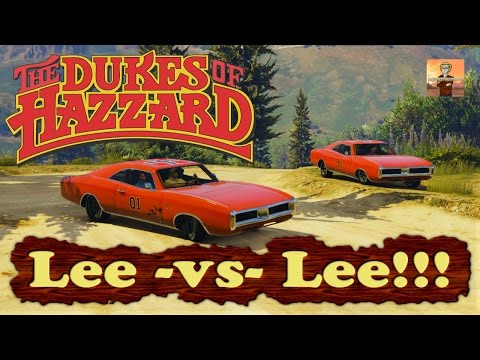 The Dukes of Hazzard Tribute Episode #3: Lee -vs- Lee!!! (GTA V Rockstar Editor Movie)