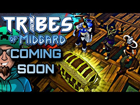 Tribes of Midgard - 10 Player Co OP Viking Survival Game Launching July 27th |