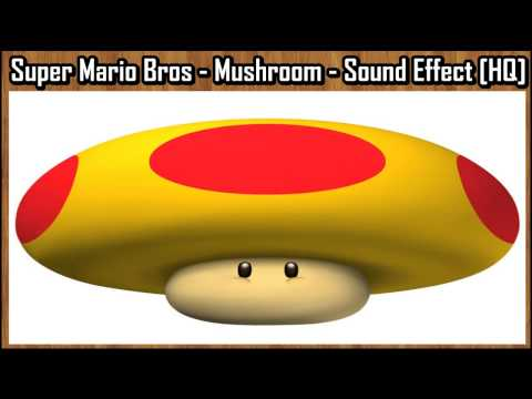 Super Mario Bros - Mushroom - Sound Effect [HQ]