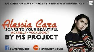 Video Alessia Cara - Scars To Your Beautiful (Acapella - Vocals Only) download MP3, 3GP, MP4, WEBM, AVI, FLV Agustus 2018