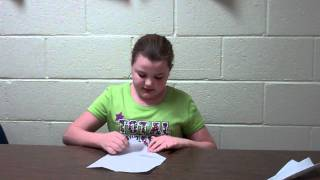 How to make a paper airplane