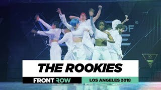 The Rookies | FrontRow | World of Dance Los Angeles 2018