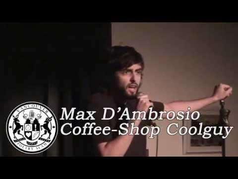 Max D'Ambrosio – Coffee Shop Coolguy