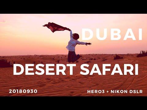 DUBAI  DESERT SAFARI EXPERIENCE 20180930