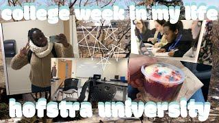 college freshman week in my life | first week of classes \ hofstra university