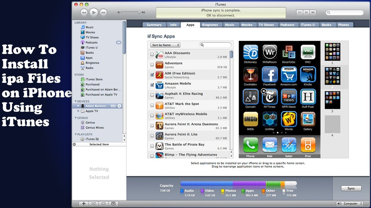 How to install ipa files on an IPhone